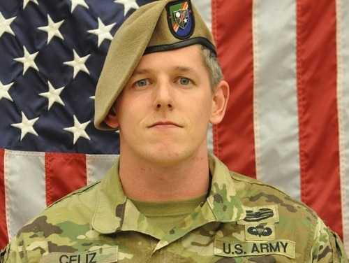 Sgt. 1st Class Christopher Celiz, of 1st Battalion, 75th Ranger Regiment, was killed in action July 12, 2018, in Afghanistan. (Army)