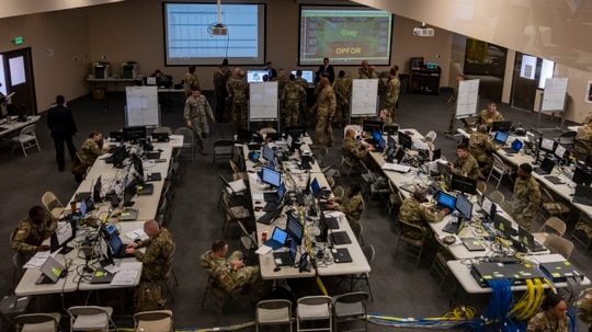The Army's cyber protection teams need user-friendly tools and flexible training. (Spc. Joshua Syberg/DVIDS)