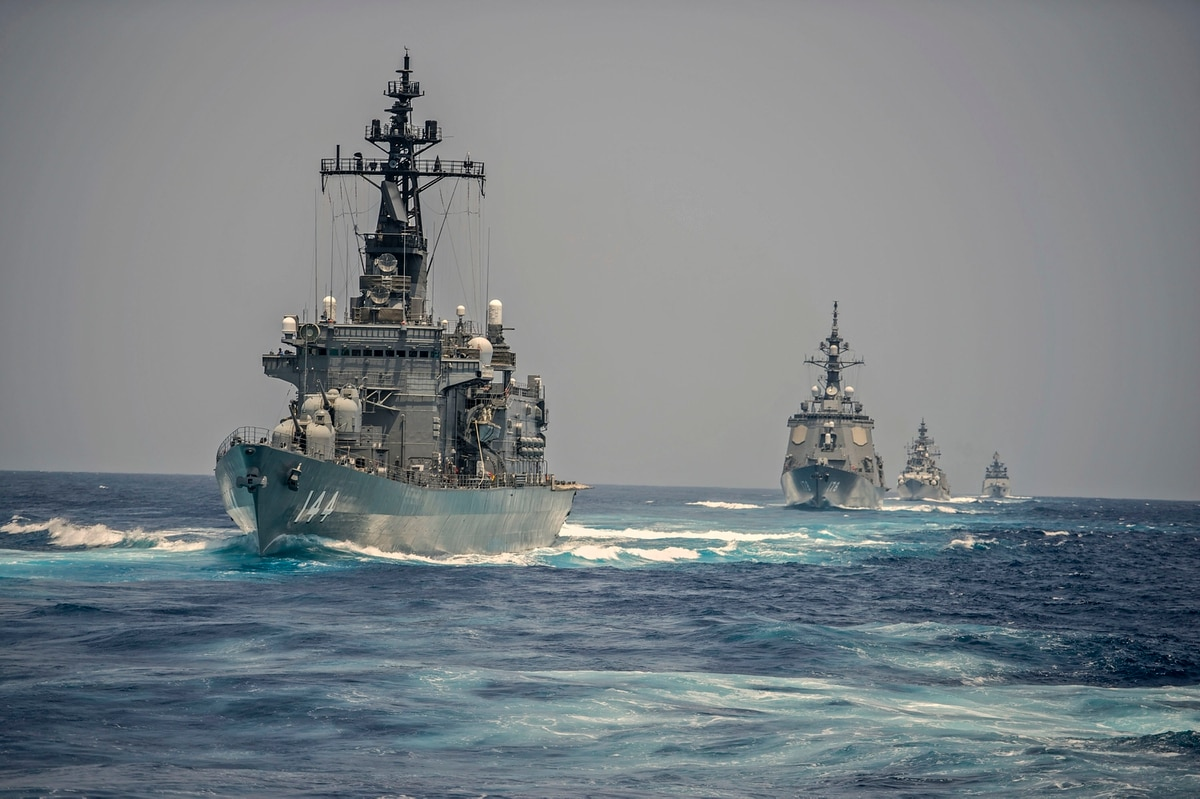 Australia joins 'quad drill with US, Japan, India