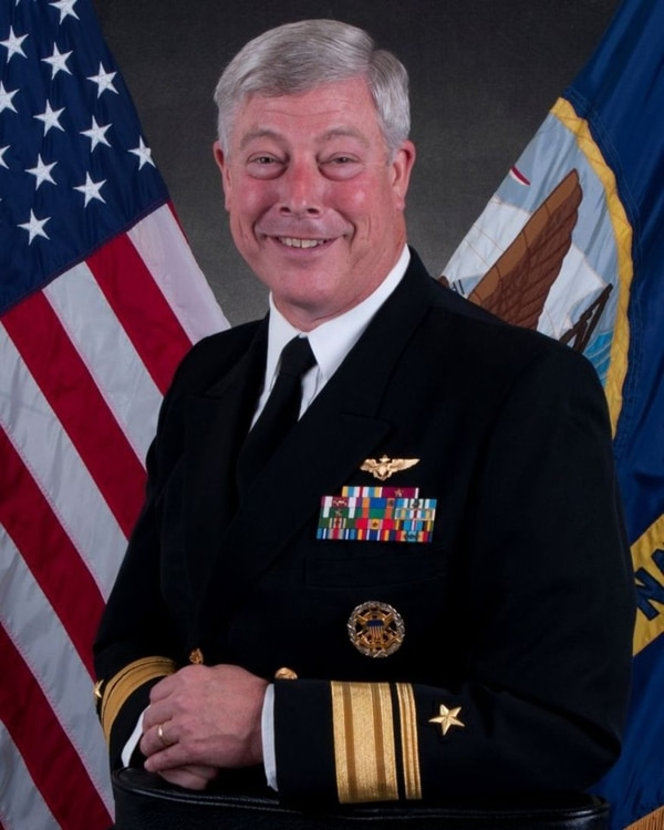 Official Navy portrait for retired Rear Adm. Patrick J. Lorge. (Navy)