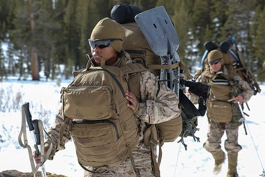 Despite its issues, the USMC FILBE is certainly one of the top tier value-based packs available on the market today. Buy it, ruck with it, see how it behaves on long hikes, and upgrade it to fit your needs. (USMC photo)