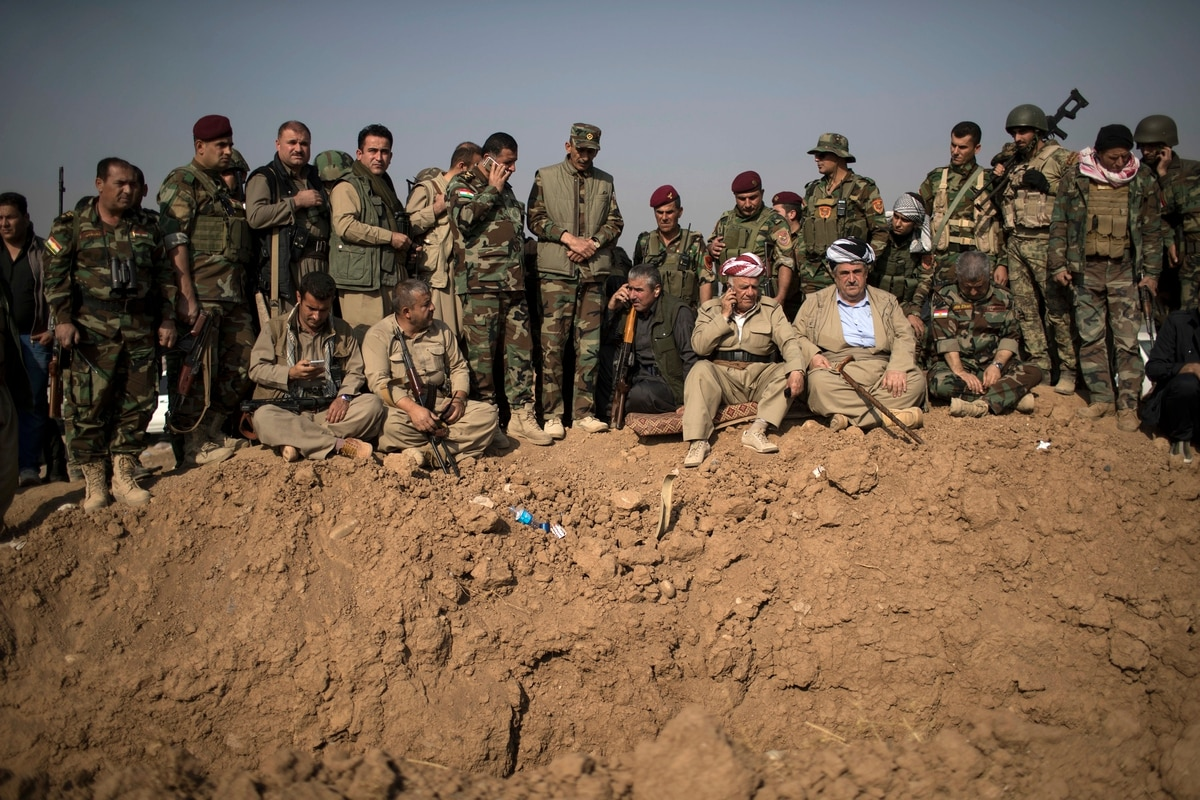 If Us Trleave Syria What Happens To Americas Kurdish Partners In The Fight