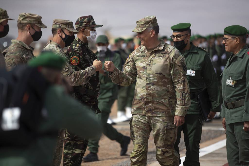Top US general in Africa: 'Wildfire of terrorism' on march here