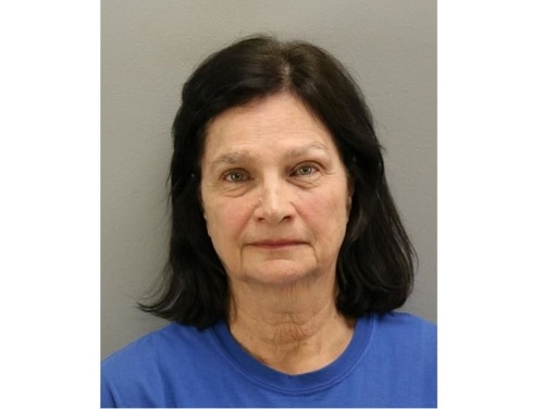 On Feb. 28, Lou Ella Moore, 64, of Virginia Beach, was arrested on a charge of interfering with the operation of aircraft. She is accused of shining lights at military planes flying from Naval Auxiliary Field Fentress in Chesapeake, Virginia in December 2019. (Virginia Beach Sheriff's Office)