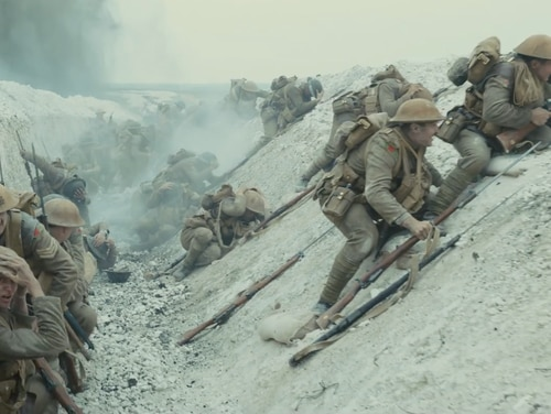 The second official trailer for the World War I film