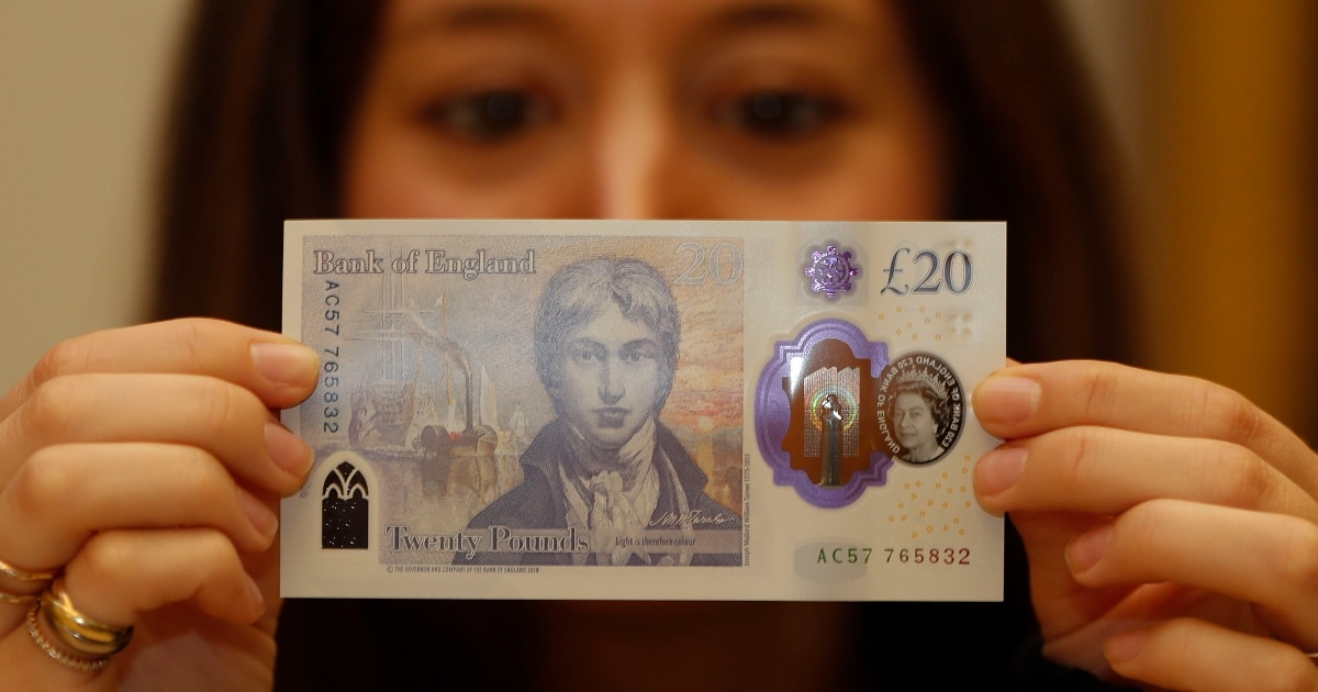 UK artist, warship, replace economist on bank note