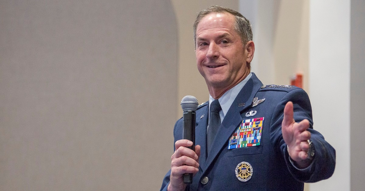 dave goldfein has responded to an anonymous air force officers critique of the services leadership issues by offering him a job