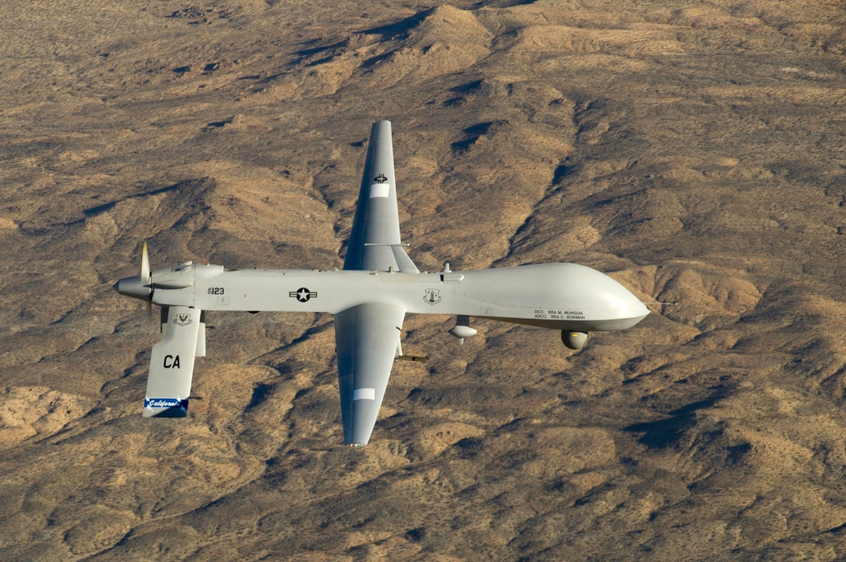 Predator UAV Lost Over Syria