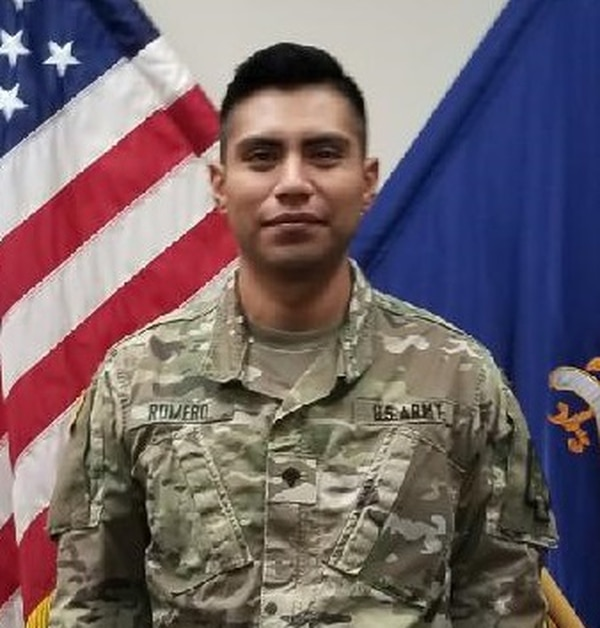 Spc. Elvis Romero will receive the Soldier's Medal on Friday at Fort Bragg, North Carolina. (Army)