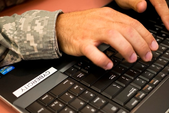 DoD still has a ways to go to integrate information operations leadership and operations. (Georgia Army National Guard photo by Staff Sgt. Tracy J. Smith)