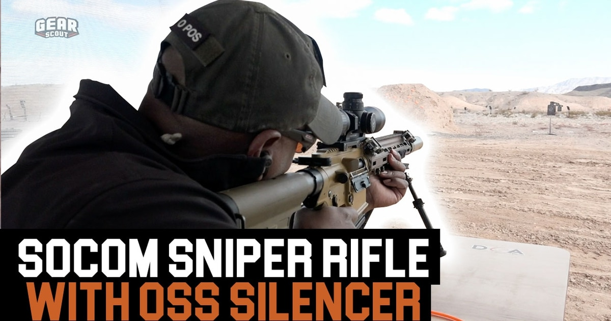 Check out the OSS suppressor on the Army's new sniper rifle