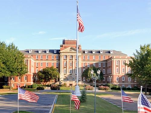 The Tuscaloosa Veterans Affairs Medical Center in Alabama saw its first coronavirus case on April 14. (Courtesy of VA)