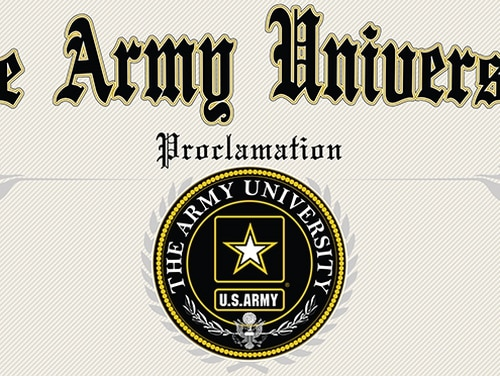 Army University is working to translate a range of NCO education into transferable college credit. (Army)