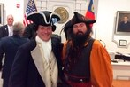 Blackbeard the pirate goes on 'trial' in NC courtroom