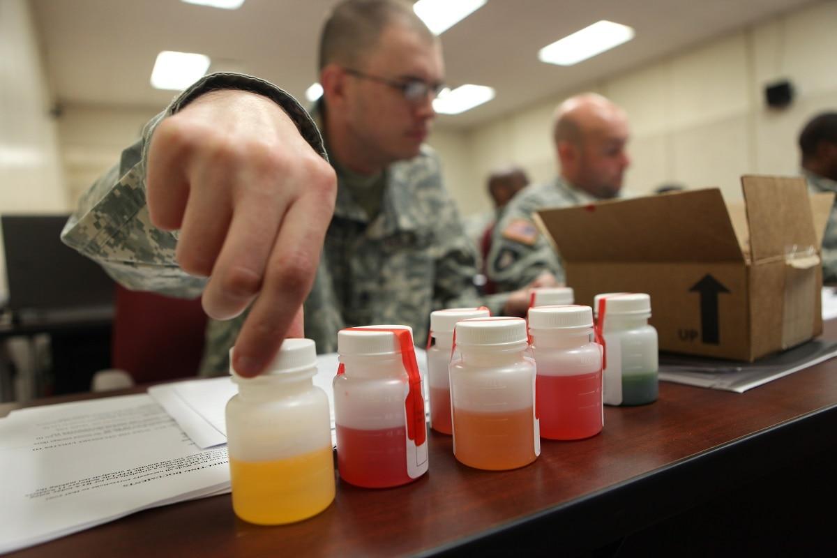Troop drug dismissals suspended due to lab contamination concerns