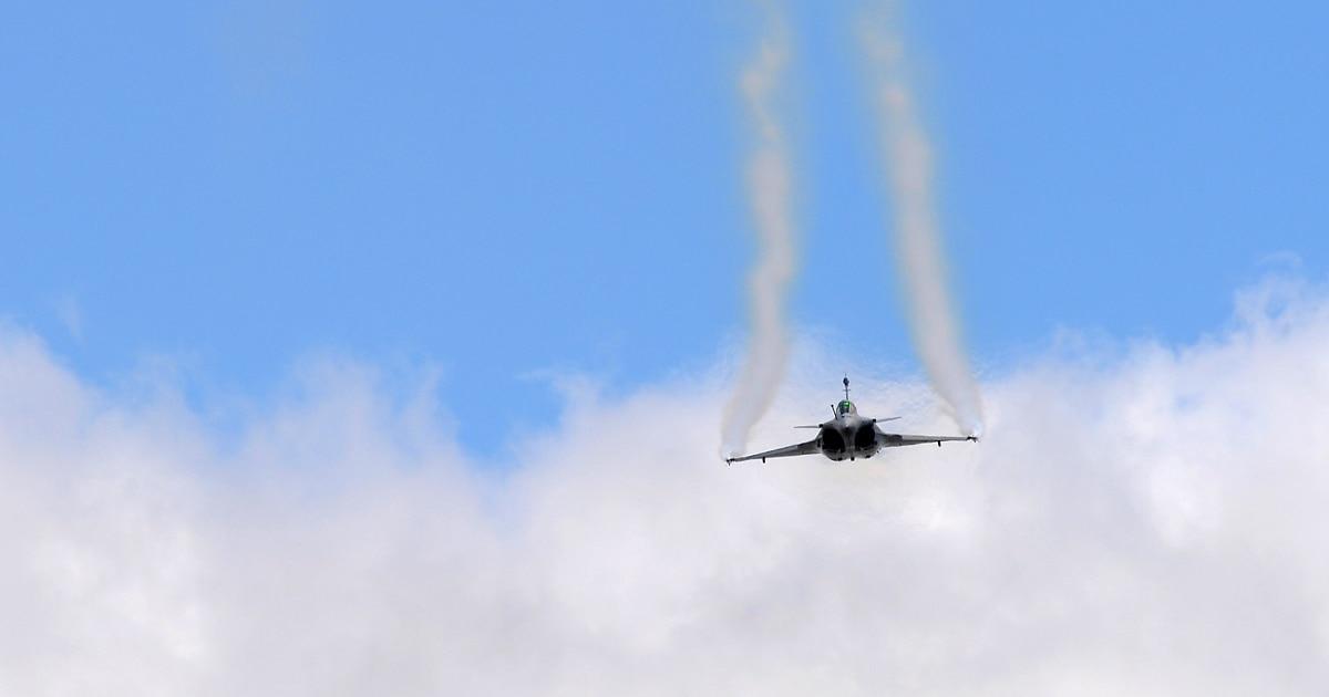 French Air Force rehearses a long-range nuclear strike
