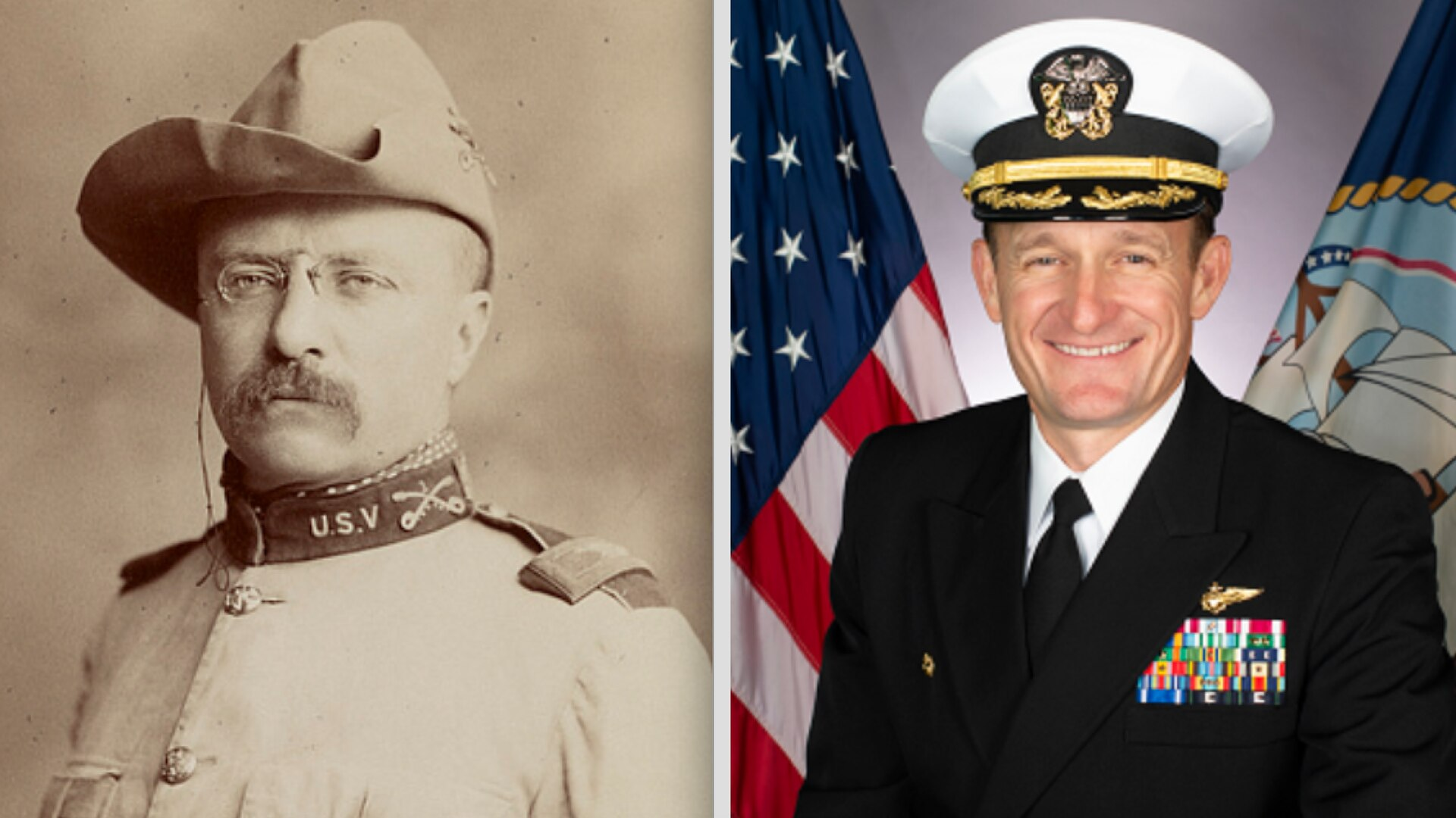 Action's by Capt. Crozier were remarkably similar to those taken by his ship's namesake 122 years earlier. (Library of Congress / Navy)