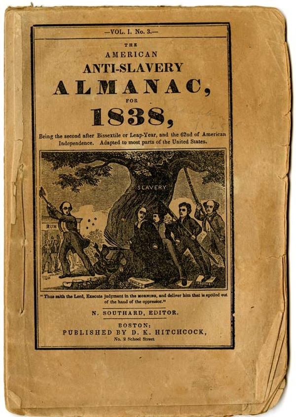 Antislavery Pamphlet, 1848. (Division of Political History, National Museum of American History)