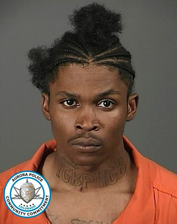 Dajon Harper, 26, is shown in this undated booking photograph supplied by the Aurora, Colo., Police Department. Harper was shot and killed by a decorated Vietnam veteran after Harper broke into the man's home early Monday, July 30, 2018, and attacked the owner's grandson. When Aurora Police responded to emergency calls from the home, officers shot and killed the homeowner. (Aurora, Colo., Police Department via AP)