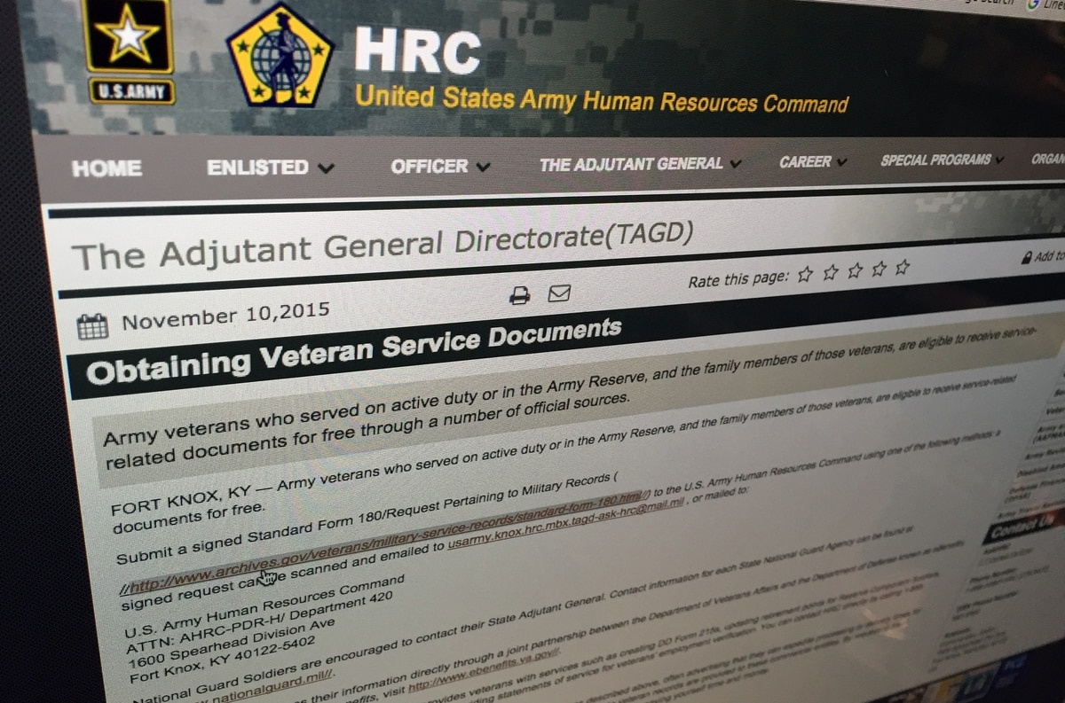 Heres How To Replace Military Service Records And Awards