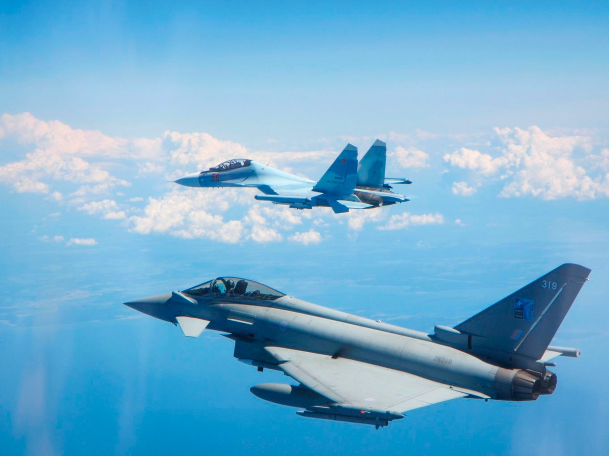 British Air Force charts a rise in Russian activity around Baltic states
