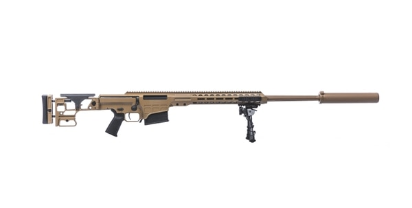 Barrett has built this weapon, the MRAD, for the Special Operations Command Advanced Sniper Rifle program. The company recently won an award to supply a version of this rifle, chambered in .300 PRC for the defense department. (Barrett)