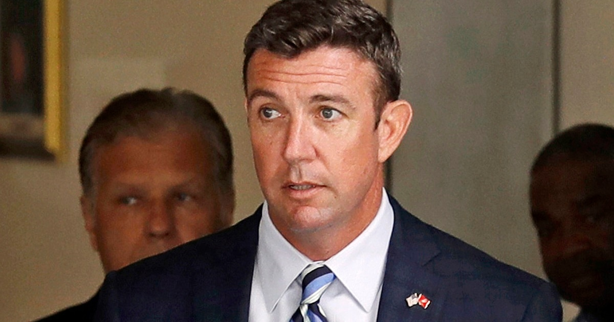 Marine veteran Congressman Duncan Hunter says he will plead guilty to corruption charges