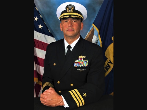 Cmdr. John Robert Bowen was relieved of command of the warship Decatur on Thursday. (Navy)