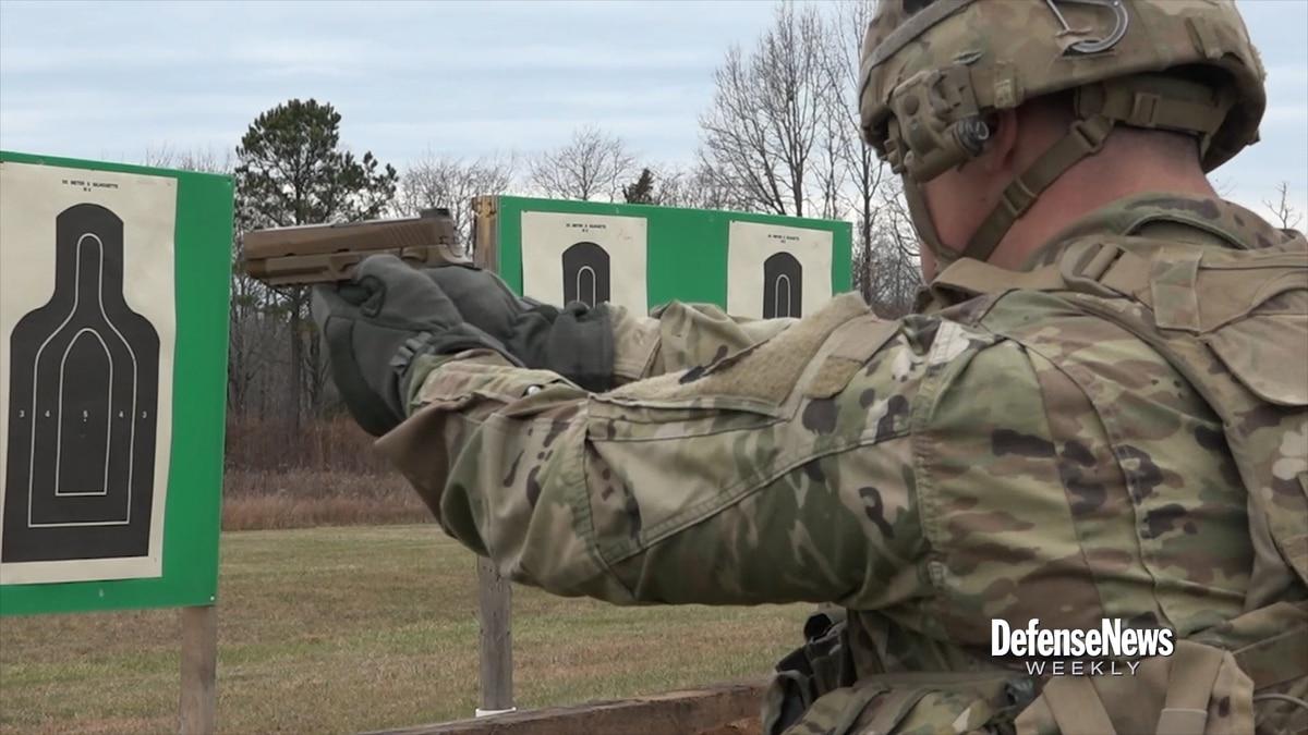 101st Airborne takes new M17 handgun to the range