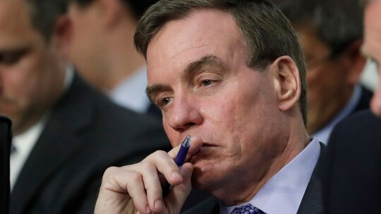 Sen. Mark Warner, D-Va., wants to know more about what CBP is doing to protect Americans' biometric information. (J. Scott Applewhite/AP)