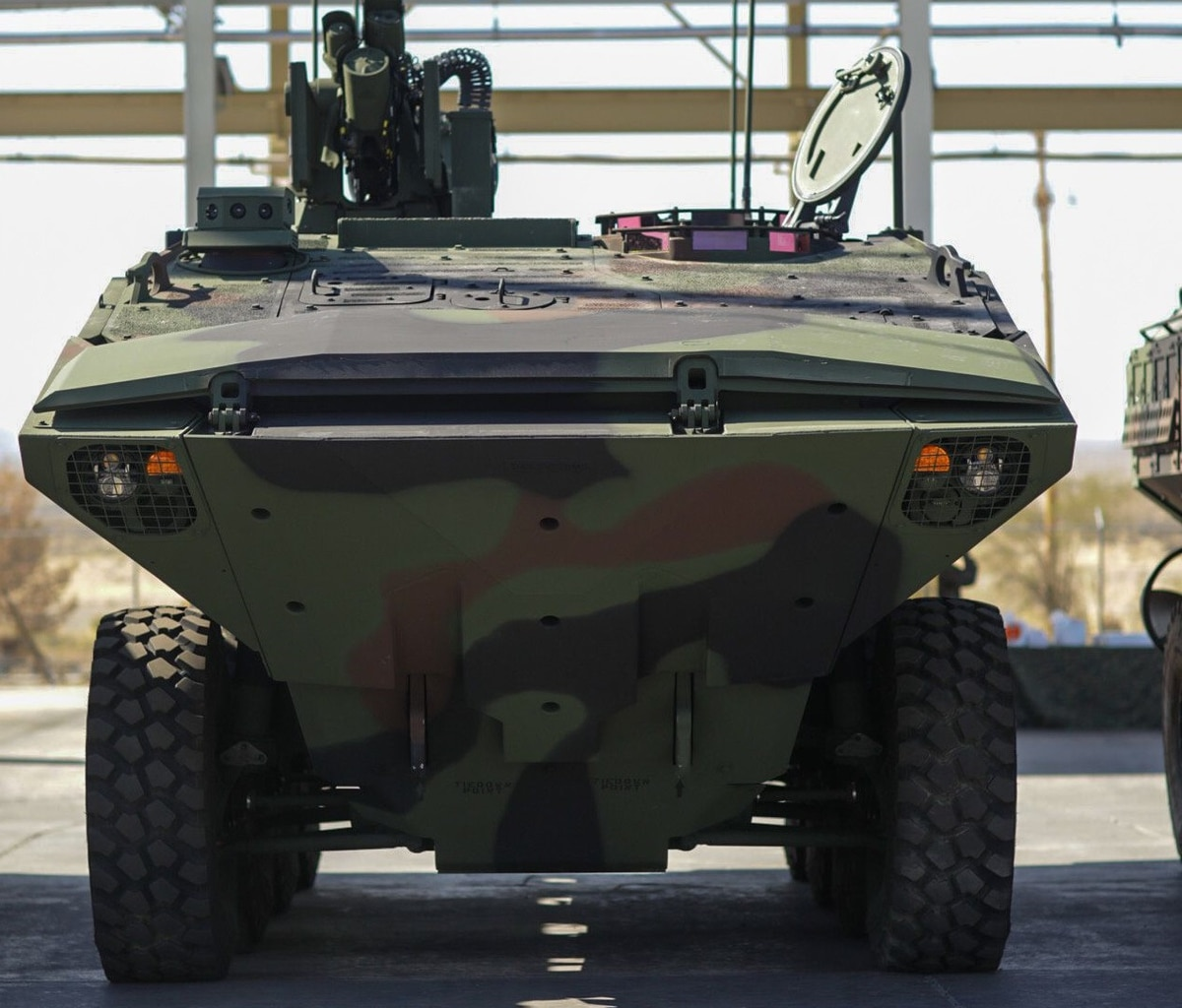 Marine Corps Receives First Amphibious Combat Vehicle