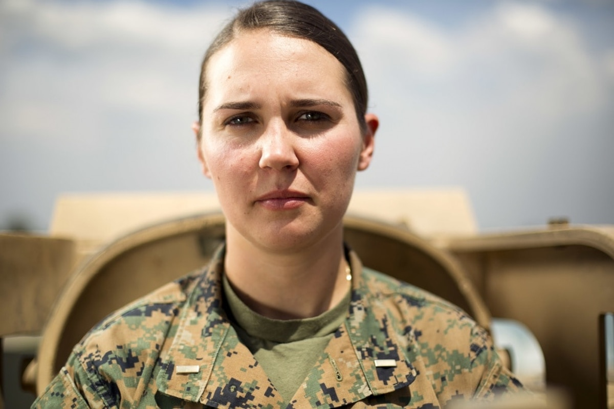 Marine makes history as Corps' first female tank officer