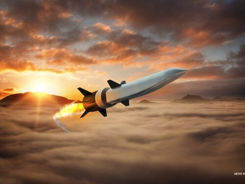Raytheon and Northrop Grumman are teaming to accelerate air-breathing hypersonic vehicle development. The companies will partner on DARPA's Hypersonic Air-Breathing Weapon Concept. (Raytheon)
