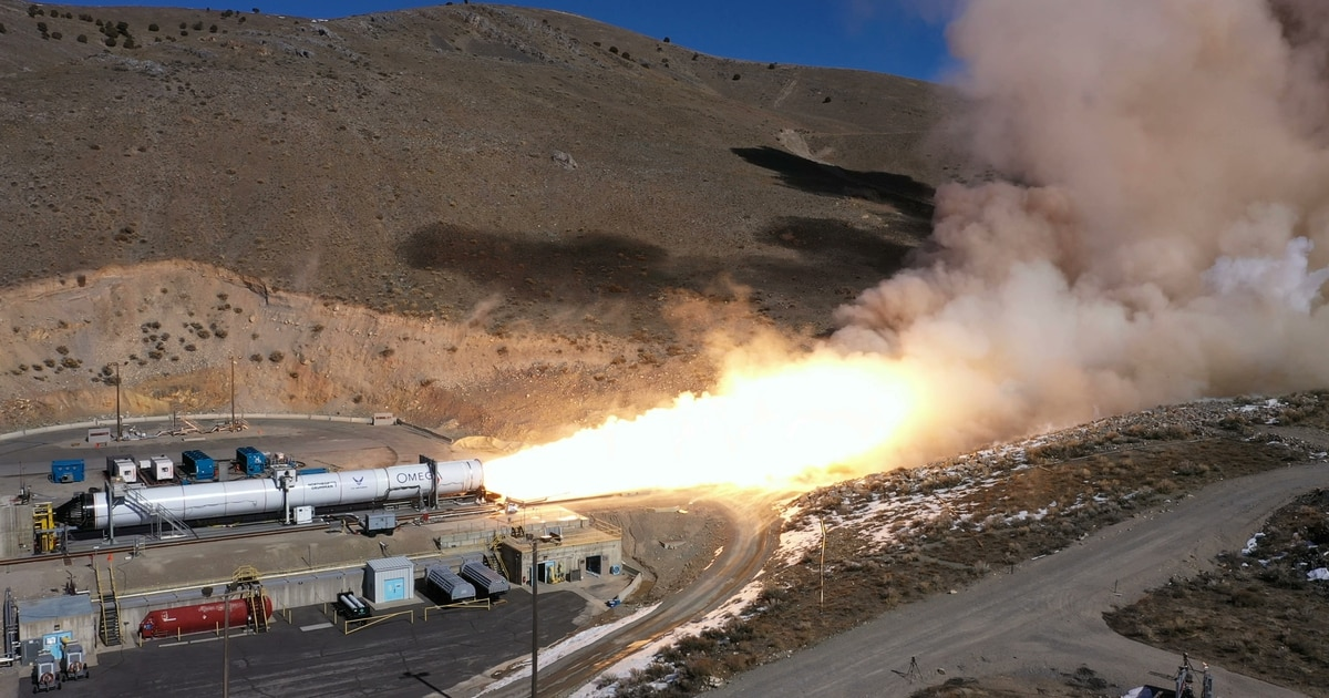 With static test complete, Northrop Grumman's OmegA rocket is on track for 2021 flight