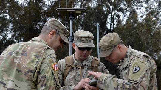 Electronic warfare capabilities by near peer adversaries present communications problems for friendly forces. (Armando R. Limon, U.S. Army)