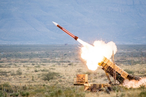 Saudi Arabia-based Patriot batteries have allegedly intercepted more than 100 tactical ballistic missiles launched from Yemen since the Saudi-led war against Iranian-backed Houthis began in 2015, according to U.S. prime contractor Raytheon. (Raytheon)
