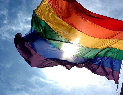 A July 16 Defense Department policy memo indirectly banned the LGBTQ pride and other flags.