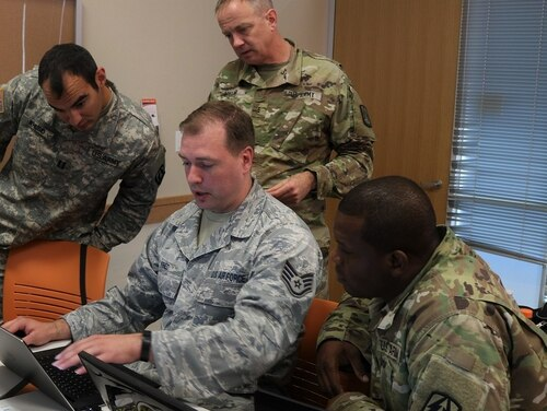 As Cyber Command continues to mature, it is looking to fill out critical staffing functions at its headquarters elements. (Sgt. Erick Yates/Army)