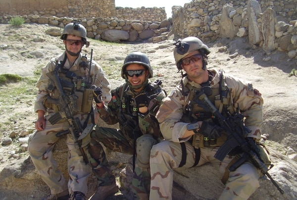 Then-Sgt. Matthew Williams served as a weapons sergeant with Operational Detachment Alpha 3336, Special Operations Task Force 11, Combined Joint Special Operations Task Force-Afghanistan. (Army)