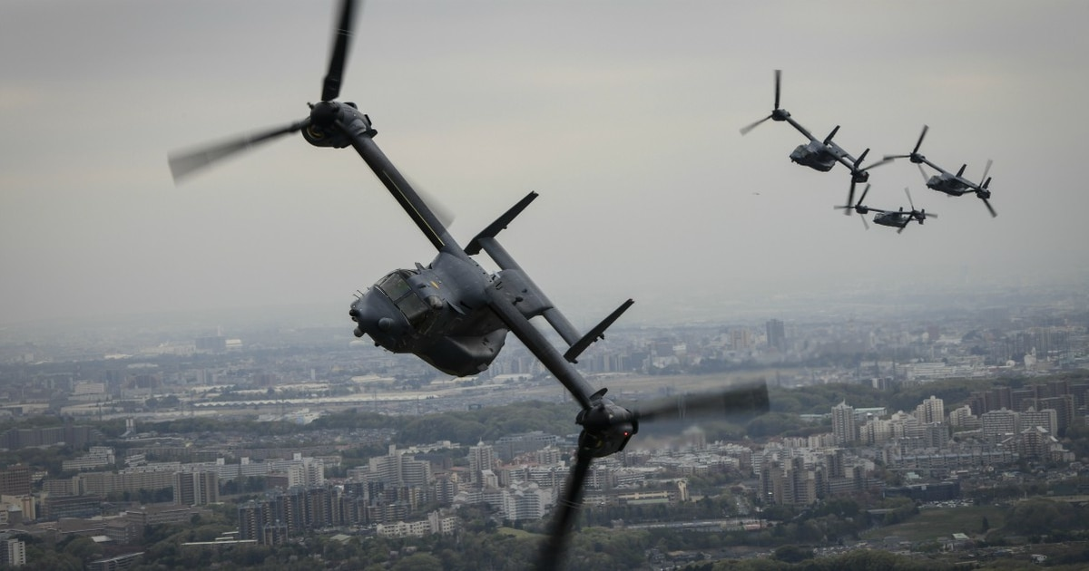 Air Force Ospreys spotted in Vietnam for first time