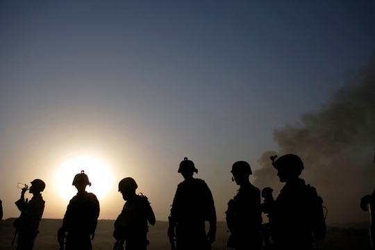 Iraq's prime minister says U.S. combat troops are no longer needed to fight ISIS. (AP Photo/Marko Drobnjakovic)
