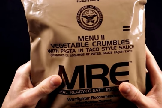 MRE unboxing videos are very popular for those who experience ASMR. (Screenshot via YouTube)