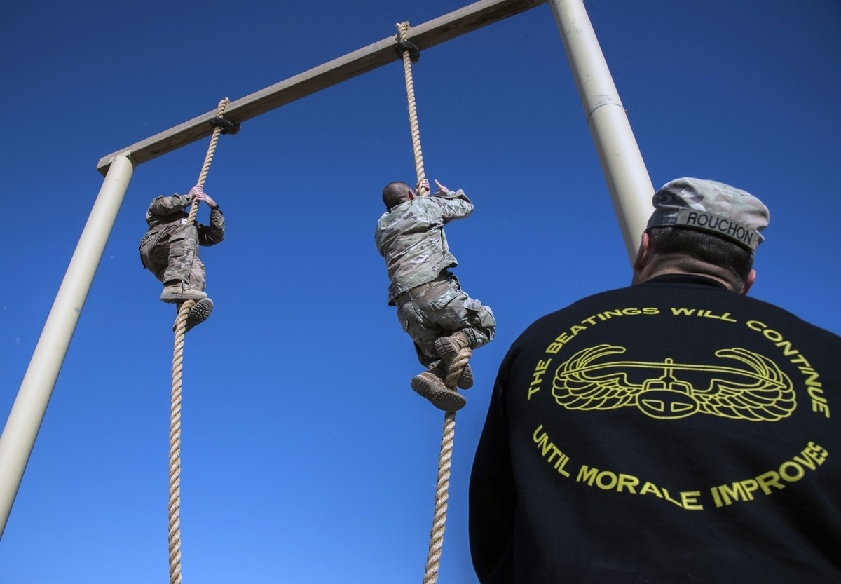 Fort Bragg is shutting down its air assault school
