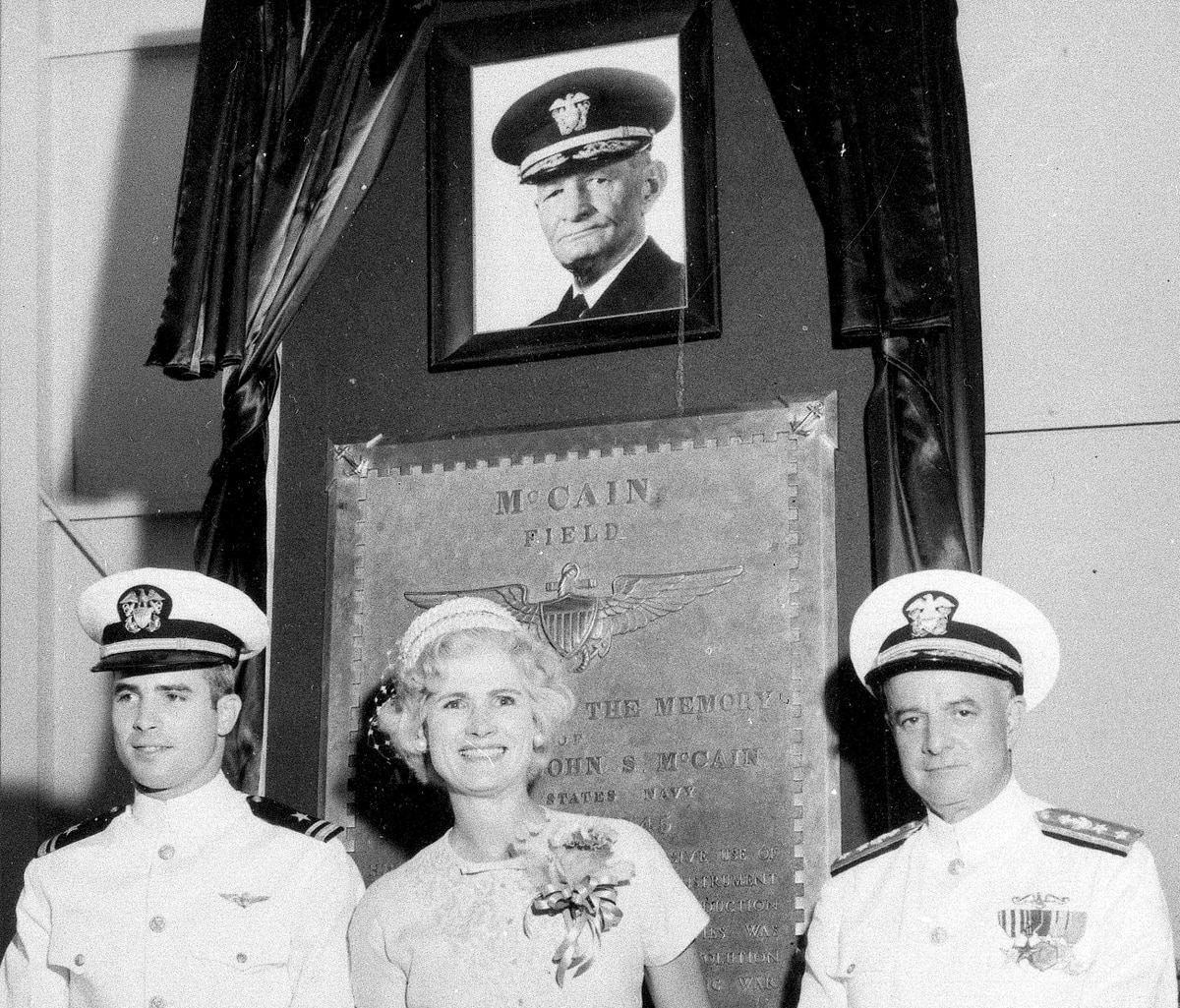 John Mccain Latest News Photos And Videos: Navy Ship In Collision Named For McCain's Dad, Grandfather