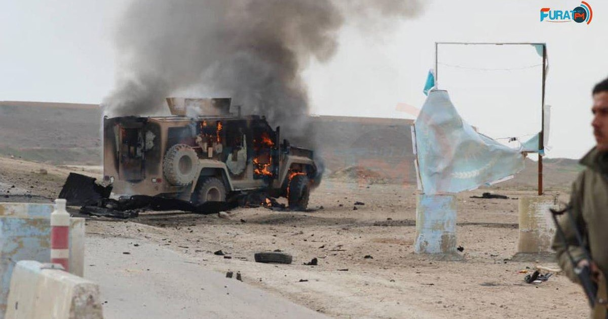 ISIS car bomb targets US troops in Syria one week after four Americans were killed in Manbij