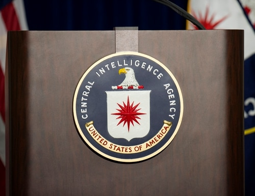 The CIA is announced the launch of its first-ever federal labratory. (AFP PHOTO/JIM WATSON)