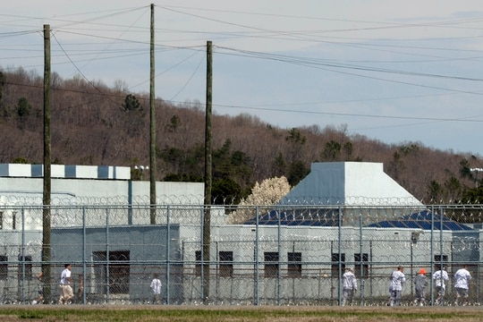 Bureau of Prisons officials plans to expand testing capabilities for inmates, but staff will have to turn to state and local resources. (Sara D. Davis/Getty Images)