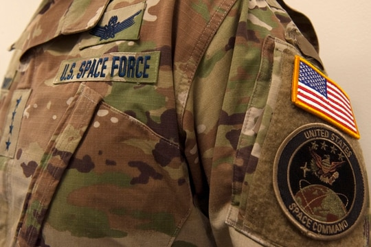 Space Force is looking to transition Air Force cyber operators to its ranks within the next year, however, those forces will not be part of the joint U.S. Cyber Command cyber mission force quite yet. (U.S. Air Force photo by Tech. Sgt. Robert Barnett)