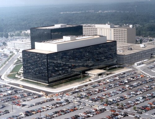 The outgoing general counsel of the NSA (its Maryland headquarters pictured) outlined several cybersecurity challenges his agency will have to deal with after he departs.