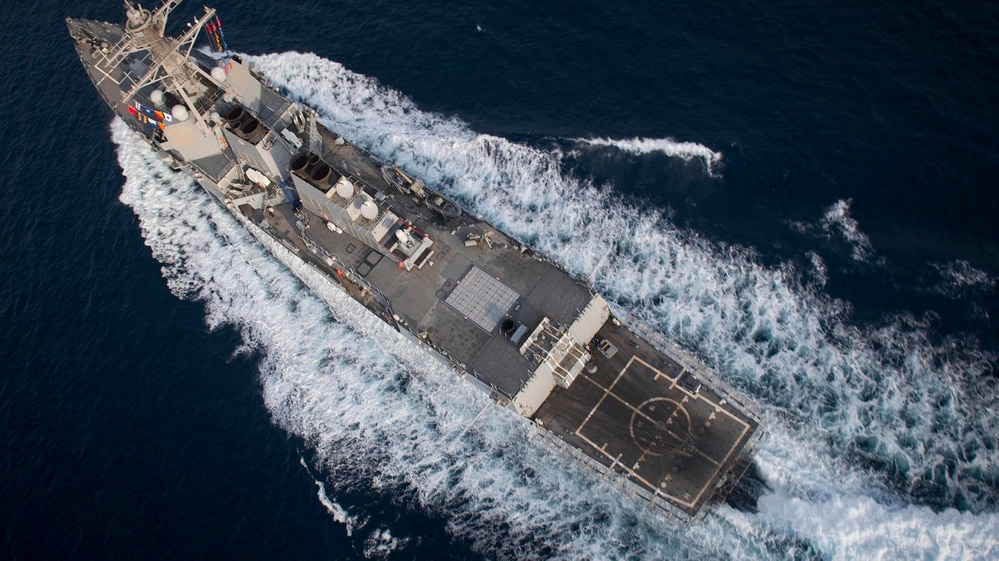 brand new 0a6fb edbd7 When it comes to missile-killing lasers, the US Navy is ready to burn its  ships